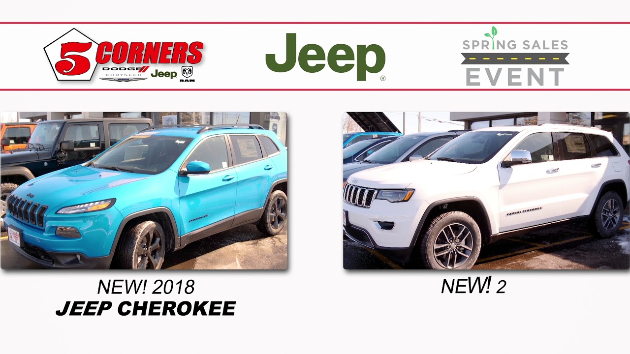 Spring Sales Event Dodge Chrysler Jeep Ram & Used Cars Milwaukee WI