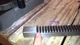 1 Ton Arbor Press Modification