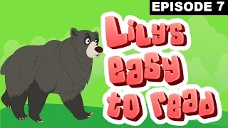 A Bear And A Cat - Rebus Stories - Lily's Easy To Read - Episode 7