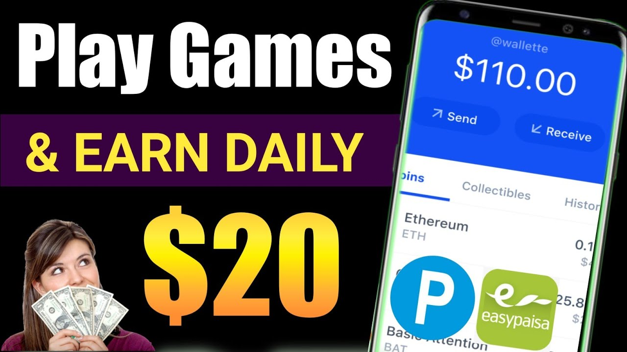Earn Money Online By Playing Games Without Investment