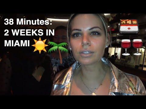 MIAMI VLOG - Lux Shopping, Eating, Beaching