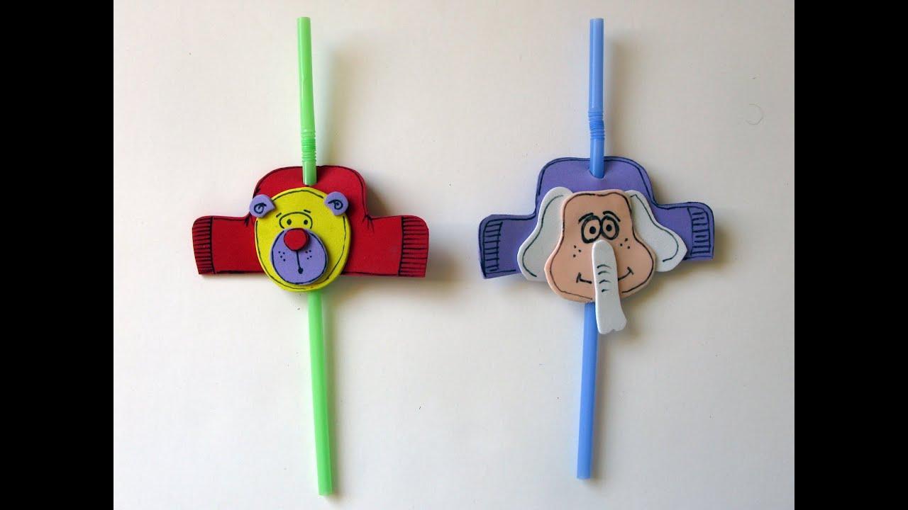 Decoracion de fiestas infantiles sorbete personalizado - Manualidades decoracion infantil ...