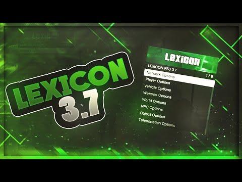 GTA 5 LEXICON 3 7 MOD MENU CRACKED! *Working* (DEX/CEX) 1 28