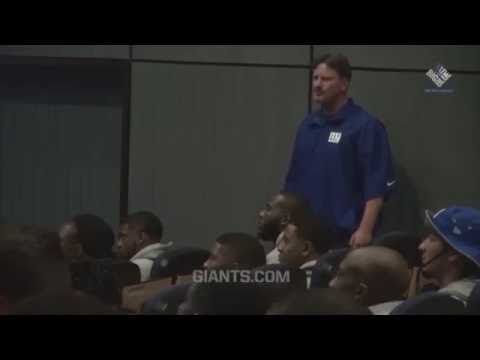 All Access: Coach McAdoo's Team Meeting