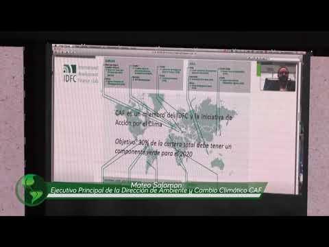 Intervención Mateo Salomon Ejecutivo Principal de la Dirección de Ambiente CAF  #CambiarEsPosible