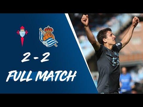 FULL MATCH   RC Celta 2-2 Real Sociedad LaLiga 2016/17