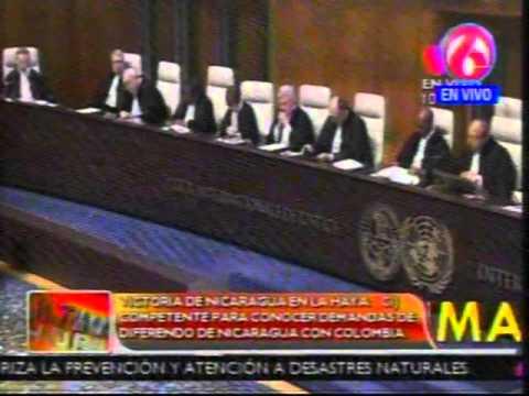 Doble victoria de Nicaragua en la CIJ