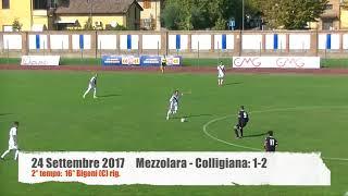 Serie D Girone D Mezzolara-Colligiana 1-2