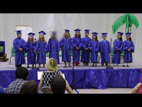 2017 Kindergarten Graduation of Salem County Christian Academy