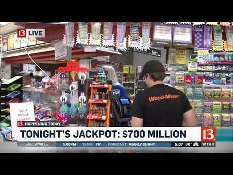 Powerball jackpot estimated at 700 million