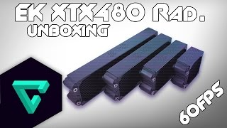 ekwb xtx 480 radiator unboxing hd m 60fps