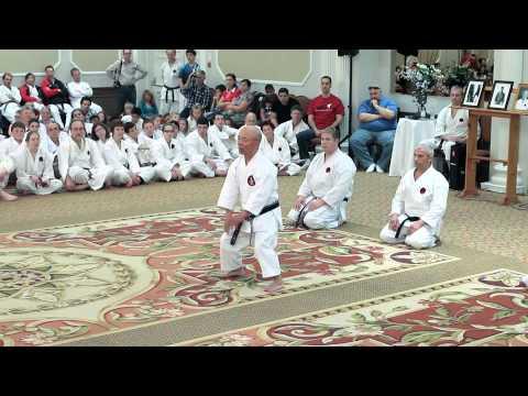 IOGKF Miyagi Chojun Festival 2013. Master's Demonstration - Part 3