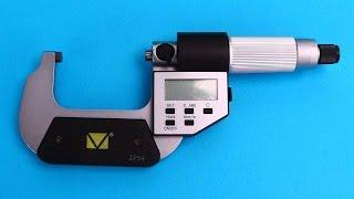 Микрометр гладкий цифровой МКЦ-50(Подробнее - http://rhs.com.ru/mikrometru-gladkiiy-cufrovoiy-pyatiknopochnuiy Микрометр МКЦ применяется для измерения наружных размеров...., 2014-07-16T12:02:36.000Z)