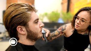 Suave Haircut for Greg Berzinsky's Son by Andy | The Philadelphia Barber Co.
