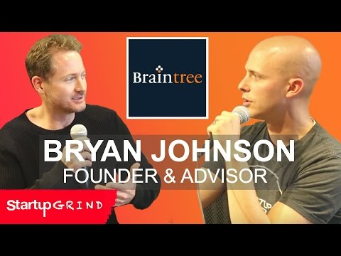 BRYAN JOHNSON | BRAINTREE, OS FUND | STARTUP GRIND SILICON VALLEY