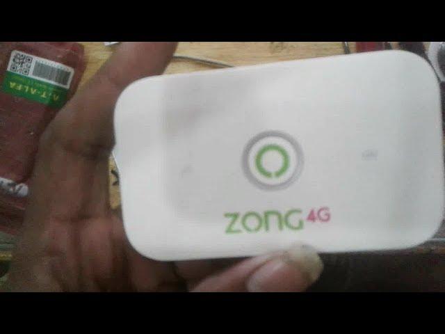 Huwai E5573 -322 Zong Unlock With Zong ORG Dashboard by janu