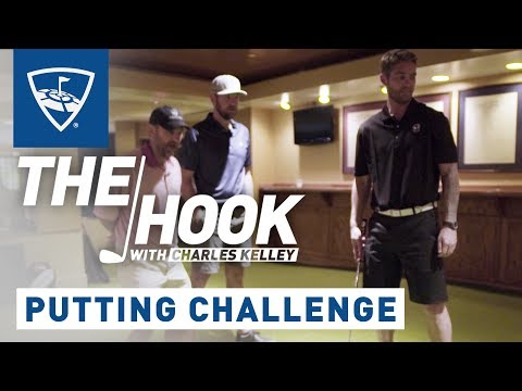 The Hook with Charles Kelley | Brett Young Putting Challenge | Topgolf