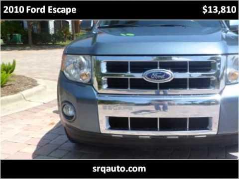 2010 ford escape used cars bradenton fl youtube for Srq motors bradenton fl