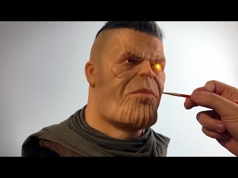 Cable / Thanos  Mash-up Sculpture Timelapse - Deadpool 2 / Avengers: Infinity War