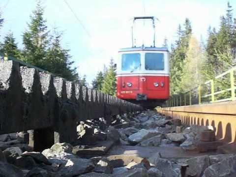 Die Zahnradbahn in der Hohen Tatra / Ozubené soukolí ve Vysokých Tatrách (11.11.2010)