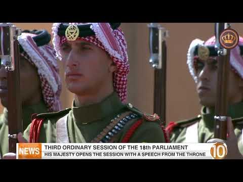 English News at Ten on Jordan Television 14-10-2018