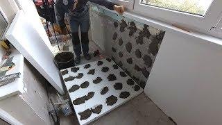 Утепление балкона или лоджии.Самый простой способ.Теплый балкон