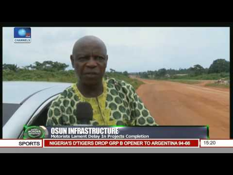 Osun Infrastructure: Motorists Lament Delay In Projects Completion