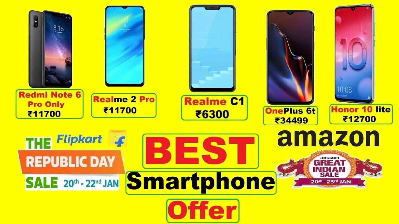 3fe1ddc4774 Best Smartphone Offers in Flipkart Republic day sale   Amazon Great Indian  Sale in 2018