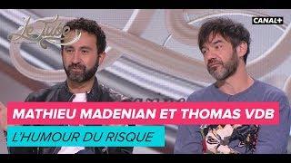 Mathieu Madenian et Thomas VDB : L'humour du risque - Le Tube du 14/10 - CANAL+