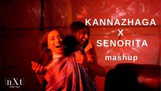 Kannazhaga X Senorita Mashup Cover   one take vid (n X t - sister duo)