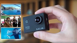 SJCAM SJ4000 Action Camera Review + Snorkling
