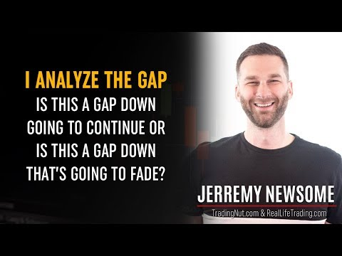 Trading Gaps & Mastering Discipline w/ Jerremy Newsome – Stock/Futures Trading Interview