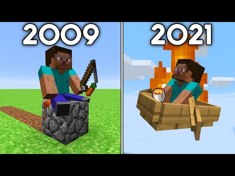 Minecraft's History of Travel - Sipover