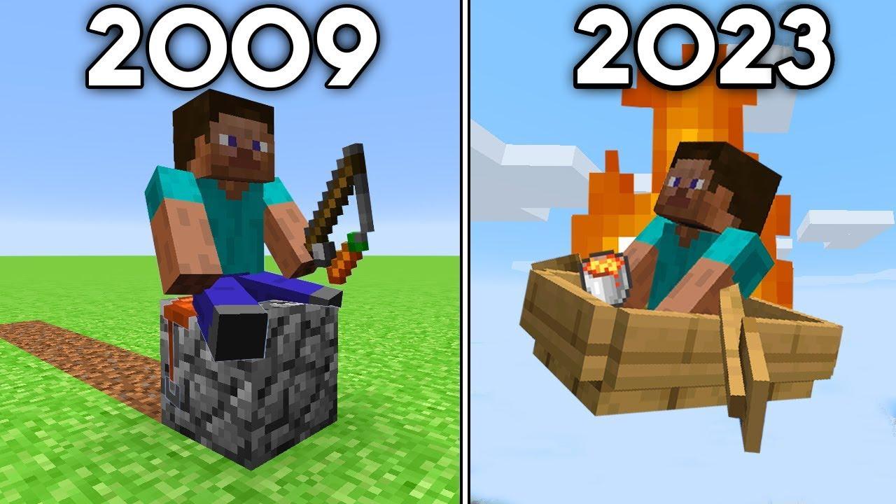 Minecraft's History of Travel