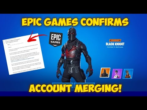 EPIC GAMES CONFIRMS ACCOUNT MERGING IS COMING BACK! (Fortnite Account Merging)