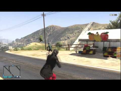 GTA 5 1.25 MODDED COMBAT ROLL FOR PS3 PS4 XBOXONE PC!!!! HD