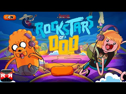 Rockstars of Ooo - Adventure Time Rhythm Game (by Cartoon Network) - iOS / Android - Gameplay Video