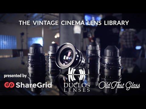The Vintage Cinema Lens Library (Teaser)