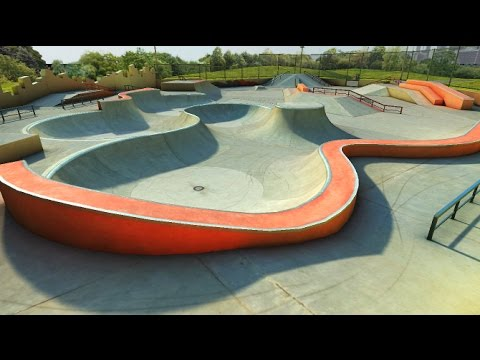 True Skate replay - Skatepark: Double Infinity