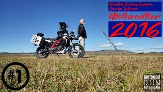 [Motorradtour] Teil 1: Kroatien, Bosnien, Serbien, Slowakei, Österreich 2016