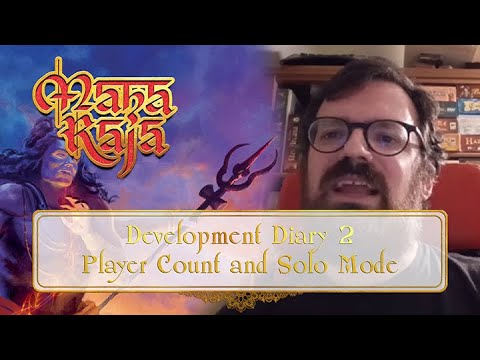 Maharaja Development Diary #2 - Player Count And Solo Mode