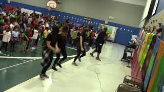 BRUNO MARS- Finesse (Remix) [ Feat. Cardi B] School Assembly Dance For Kids