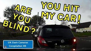 UK Dash Cameras - Compilation 46 - 2018 Bad Drivers, Crashes + Close Calls