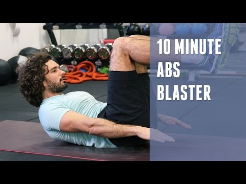 10 Minute Abs Blaster | The Body Coach