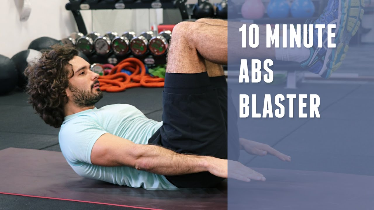 10 Minute Abs Blaster The Body Coach Youtube