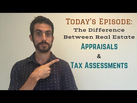 Real Estate Tax Assessment vs. Appraisal