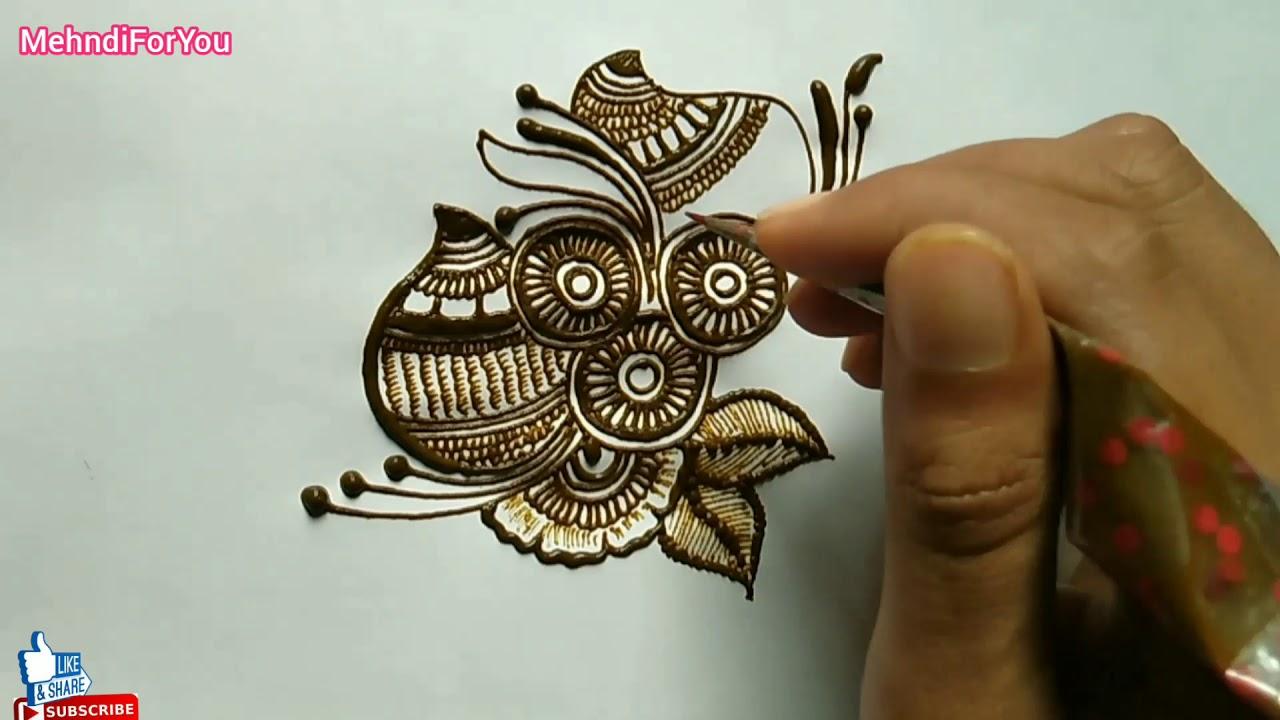 mehndi designs simple patch