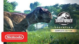 Jurassic World Evolution: Complete Edition - Launch Trailer - Nintendo Switch