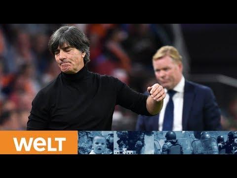 SCHICKSALSSPIEL IN PARIS: Jogi Löw und Manuel Neuer stellen sich der Presse