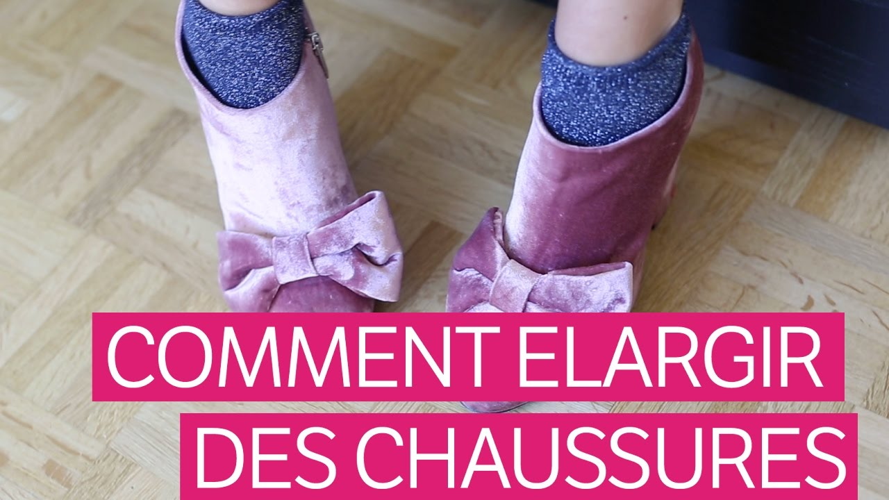 2937bb6cb79 Comment élargir ses chaussures  - YouTube